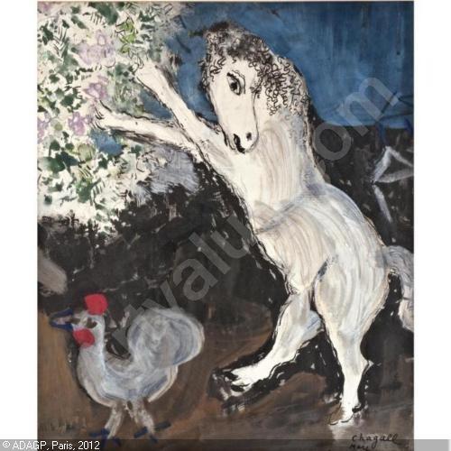 art, Chagall, peinture, naïf, surréalisme