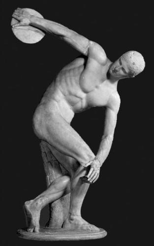 Grèce antique, art, Discobole, Vème, siècle, athènes,