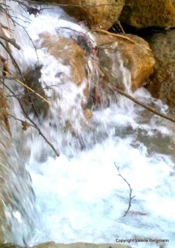 photo, nature, eau, onde, rivière, écume, couleurs
