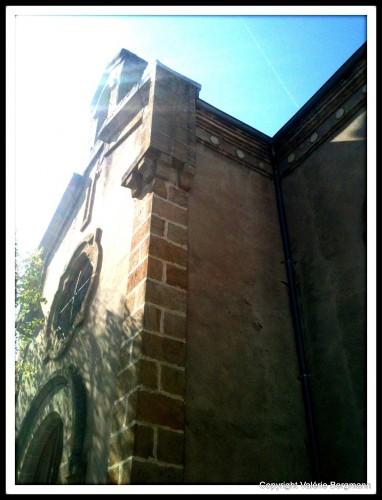 église, Ardèche, parvis, chapelle, Bourg sait andeole, Privas, ombres, lumières