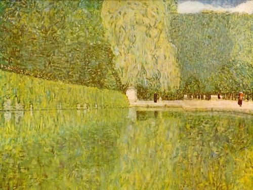 shonbrunn, park, klimt, art, symbolisme,