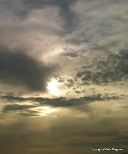 photo, ciel, nuages, paysages, lumières, couleurs