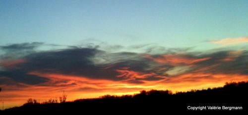 photo,ciel,soleil,lumières,couleurs, flammes