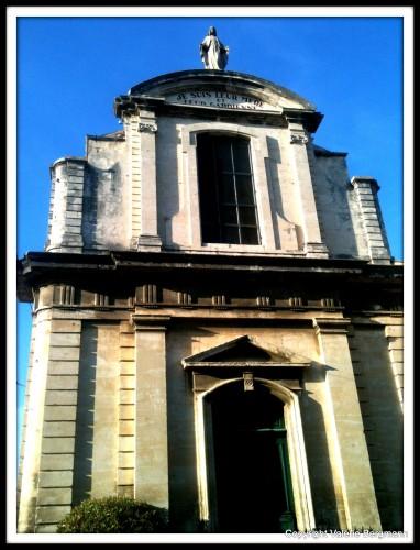 photo, chapelle, Dieu, église, drôme