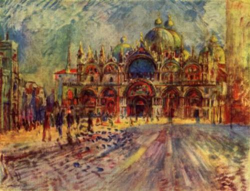 peinture, art, tableau, Renoir, impressionnisme, Venise