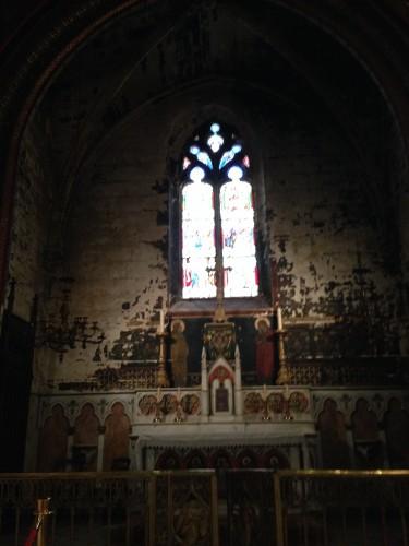 christ, dieu, église, avignon, st pierre, autel, nef, voûte, romain, antiquité