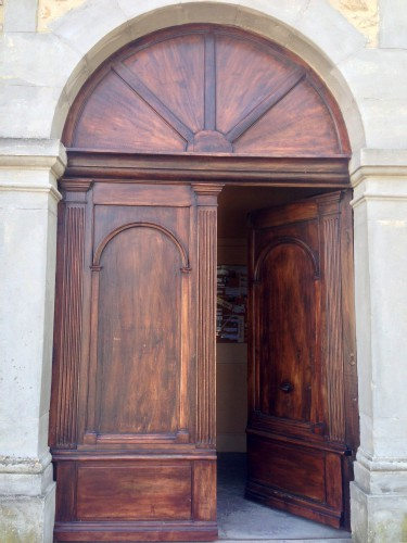 art, église, Drôme, montoison,porte intérieur, voûte, presbytère, vierge, Dieu, croix, vitraux, village