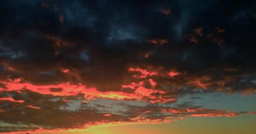 ciel, nuages, couleurs, nature, fond écran, drôme