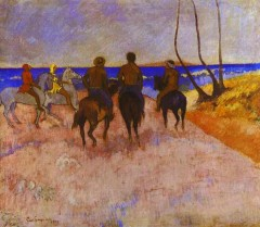Gauguin - Horsemen on the Beach 1 - 1902.jpg