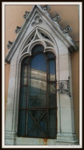 photo, parvis, chapelle, Drôme,