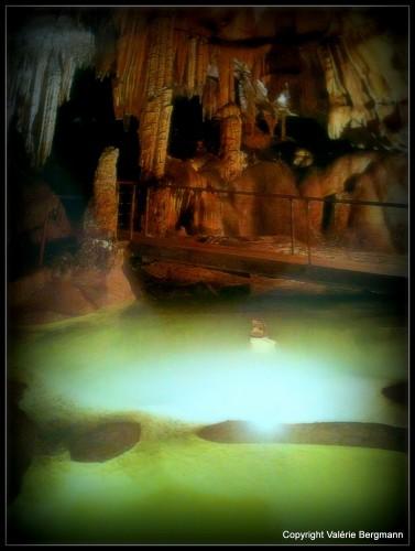 photos grotte, Madeleine, Ardèche, lumières