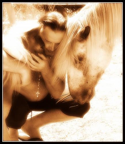 photo, les chanaux, parents, Bobine, Gemini, chevaux, souvenirs, drôme