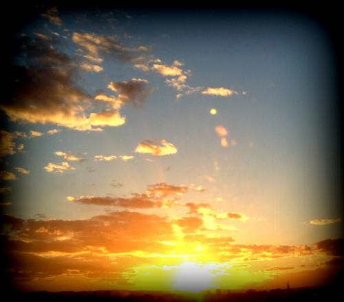 photo, ciel,nuages, couleurs, lumière, vision, soleil, nuit