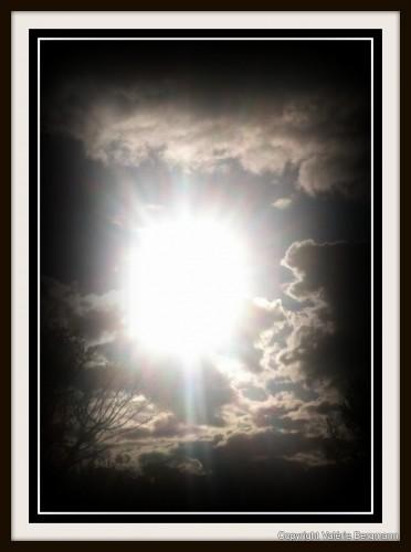 photo, soleil, ciel, nuages,nature, rayons, couleurs