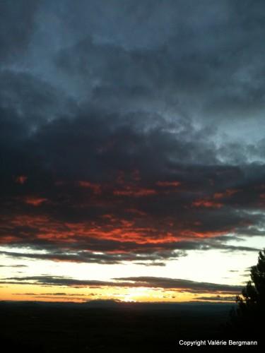 photo, ciel, nuages, couleurs, soleil