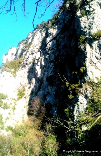 photo, ciel, montagne, paysage, nature, Saou
