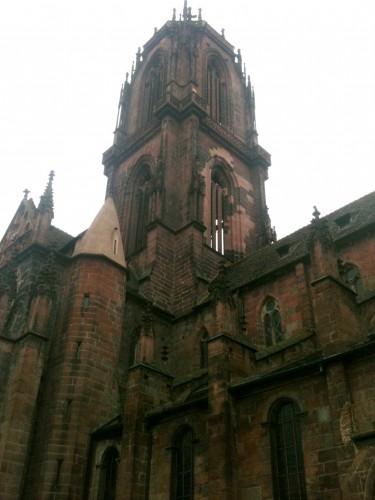 art, basilique, église, alsace, gothique