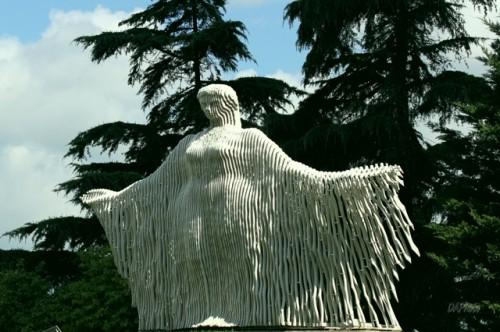 art, sculpture, Turquie, mer, Koman, femme