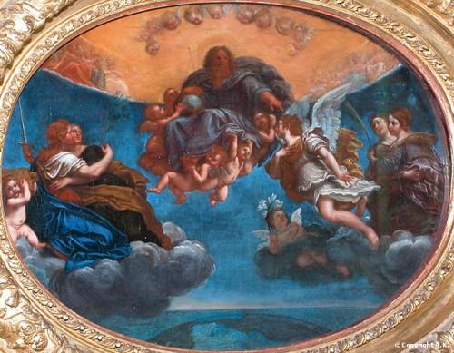 art, bologne,peinture, albani,Le Louvre
