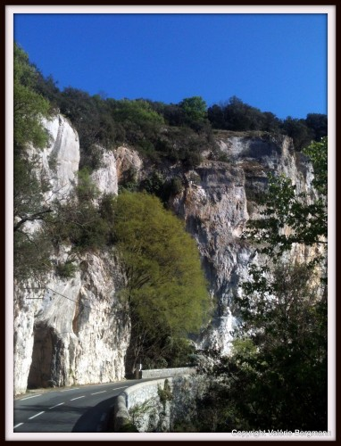 photo, Ardèche, pont, paysages, route,grottes, ombres, Ruoms,