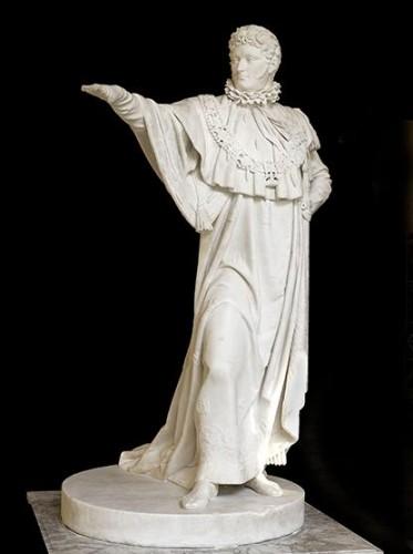 Jérome, Bonaparte,Roi, Westphalie, statue, Bosio