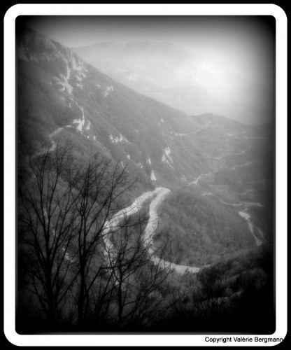 photo, Vercors, nature, paysage, lumières, noir et blanc