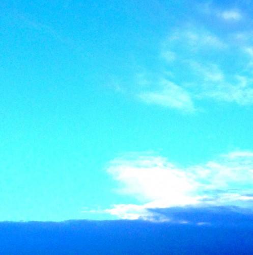 ciel,couleurs,nuages,bleu,turquoise,vallée,montagne,dégradé,les chanaux,drôme