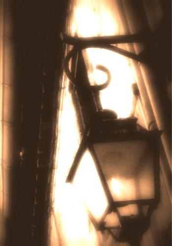 photo, art, lampadaire, lumière, Drôme, éclairage, ombre