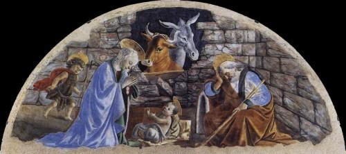 peinture, art sacré, botticelli, petite renaissance, naissance, christ, religion, chrétiens