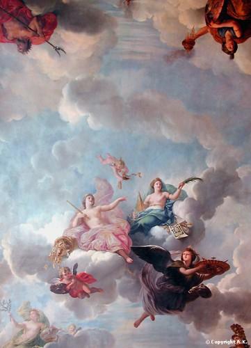 art, Versailles, libéralité, abondance, château, Louis XIV, XVI, peintres