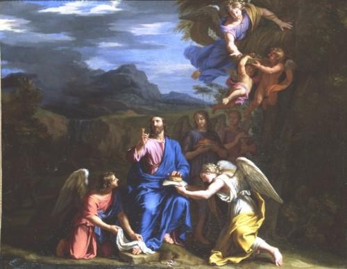 art, peinture, églises, baroque, Poussin, Champaigne
