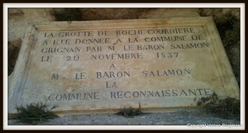 photo, grotte, Magnan, Mme de Sévigné, table,