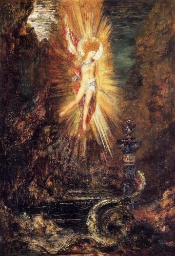 art, peinture, Watteau, Apollon, serpent, symbolisme, tableau, musée