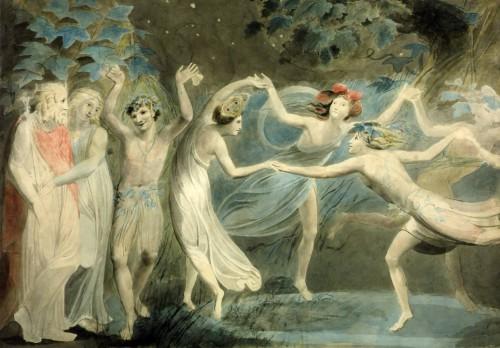art, peinture, Blake, symbolisme, tableau, musée, Londres