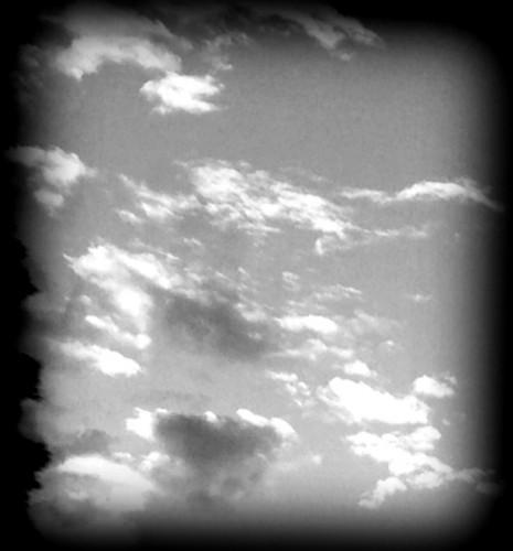 photo,noir et blanc,ciel,nuages,forme,coeur,vol,ailes