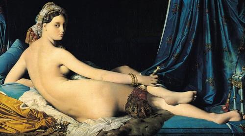jour,femme, odalisque, Ingres, art, peinture,modèle,polyvalentes,foyer,âme