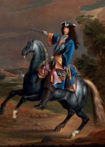 Art, peinture, Louis Xlv, cheval, bataille, Martin, roi, impressionnisme, paysages, renaissance
