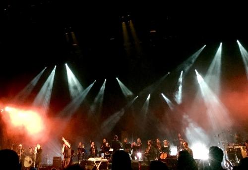 Concert, Benjamin Biolay, theatre d Fourvieres, juin, Genial, Chirac mastroianni, duo, souvenir