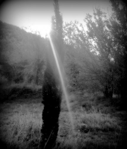 photo, art, noir et blanc, drôme, soleil, rayon, temps, ciel, nature
