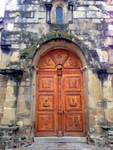 photo, Drôme, Mours, paroisse, musée, art sacré,roman, tableaux, Moralès, croix, Jésus,clocher, porte entrée