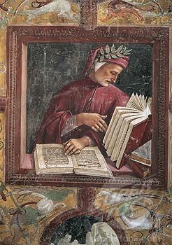 art, Signorelli, peinture, Dante, toscan