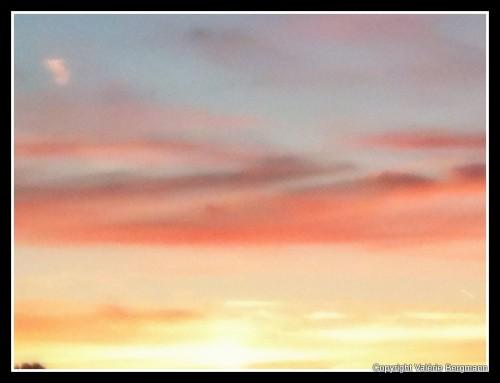 photo, ciel, nuages, couleurs, lumières, soleil