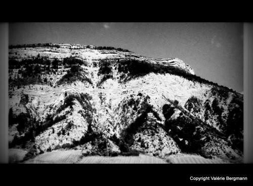 photo,noir et blanc vercors,rivières,neige,soleil,paysage,nature,arbres,lumières,montagne