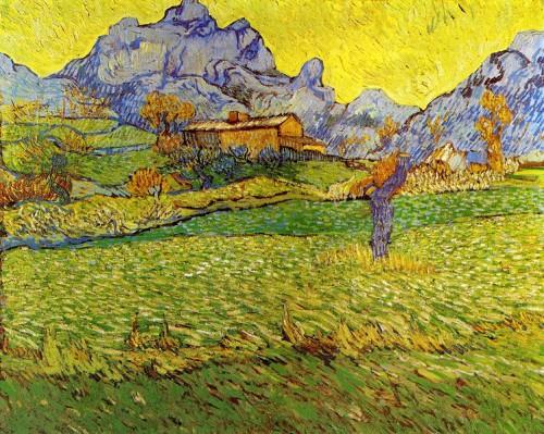Van Gogh, artiste peintre, art, Mas Saint-Paul, peintures, Saint-Rémy de Provence,tableaux, expressionnisme, symbolisme, huile, toile, couleurs, postimpressionnisme