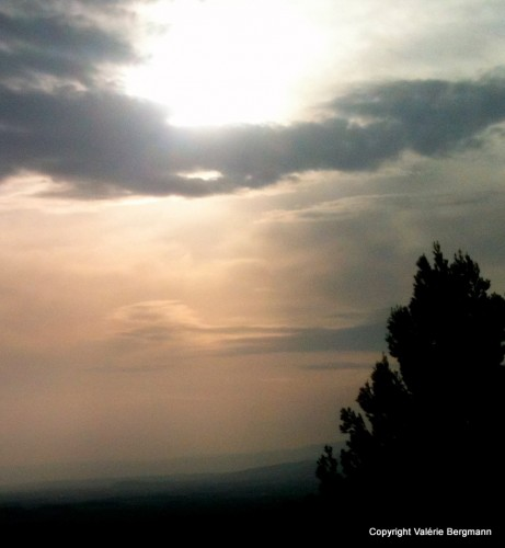 photo, ciel, pierre, paysage, nature, couleurs, nuages, lumières