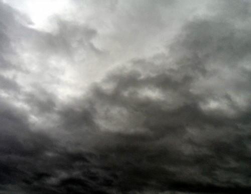 ciel, océan, nuages, mystère, mots, écriture, art, Dieu