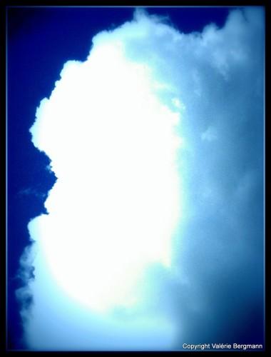 photos, gemini, kristal, bobine, cheval, chien, ciel, nuages,