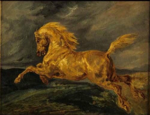 art, peinture, chevaux, romantisme;tableau, Géricault,