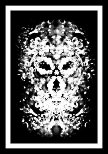 photo, art numérique, noir et blanc, tête, regard, formes, vision, graphisme