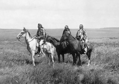 photo,indiens,chevaux,appaloosa,noir et blanc,nez percés,ouest,amérique,palouse